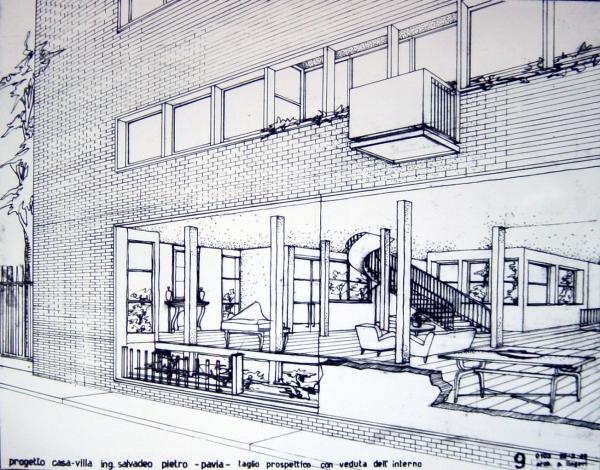 Stunning progetto di villa per ling salvadeo with disegni for Disegni di ville