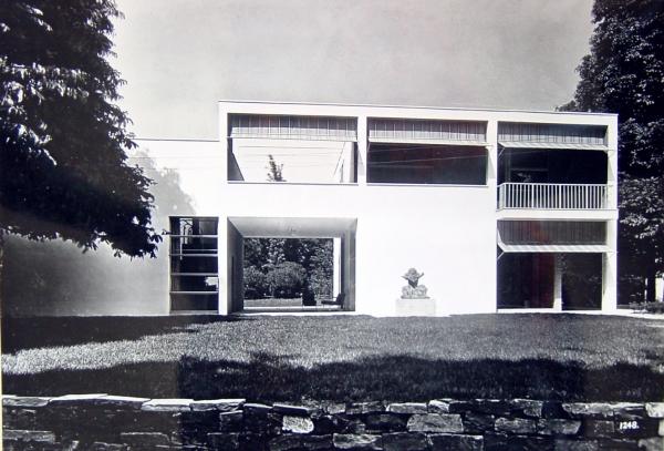 Casa sul lago per l 39 artista giuseppe terragni como - Architettura casa moderna ...